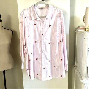 NWOT Woman Within Shirt. Size 1X